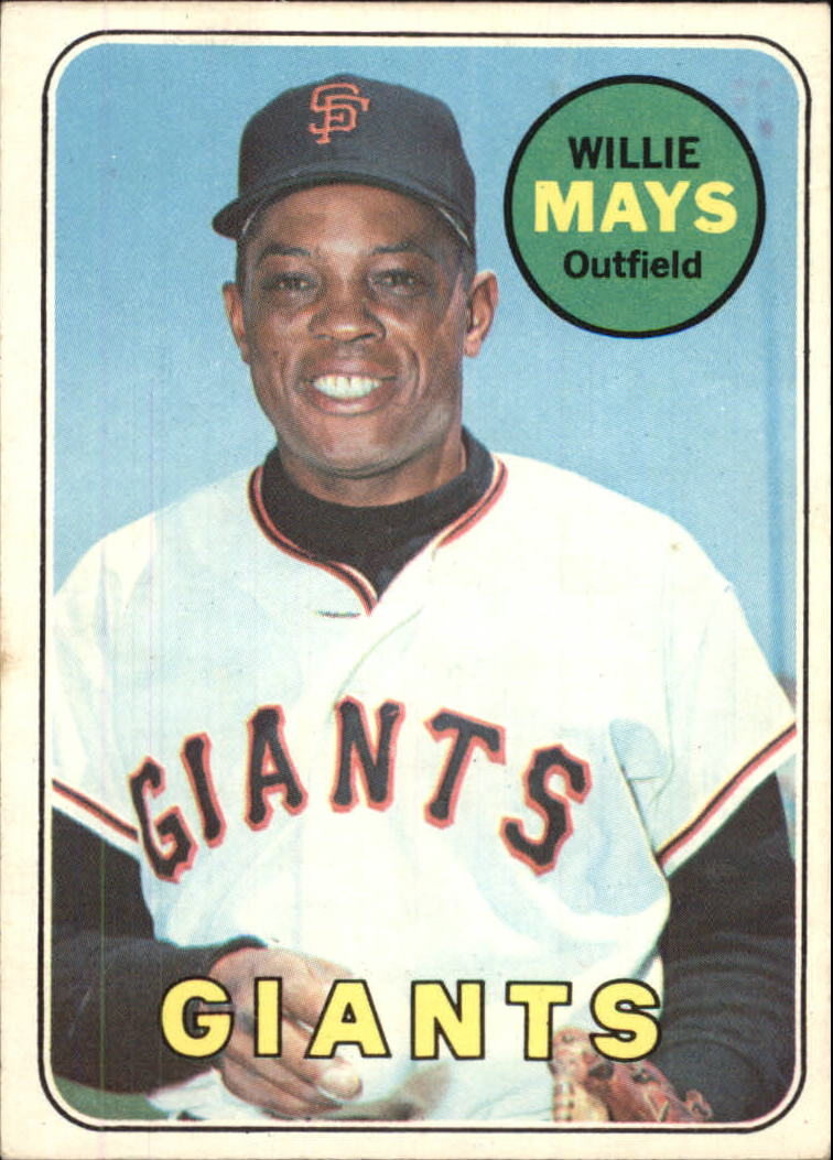 1969 O-Pee-Chee #190 Willie Mays