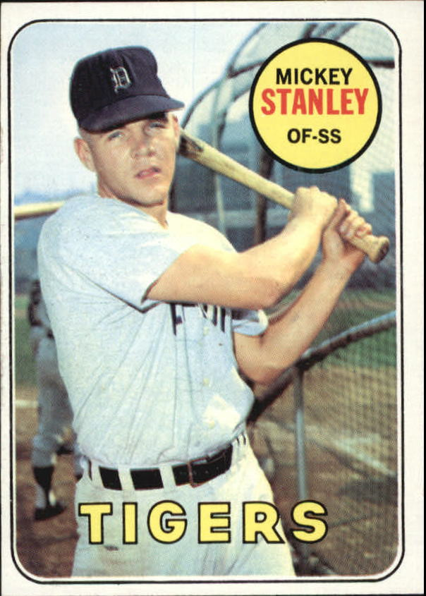 1969 Topps #13 Mickey Stanley