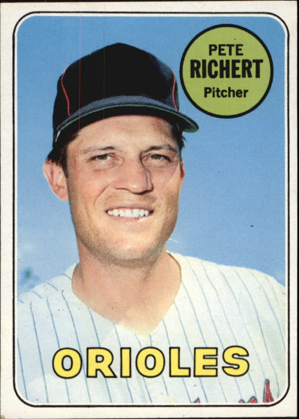 1969 Topps #86 Pete Richert