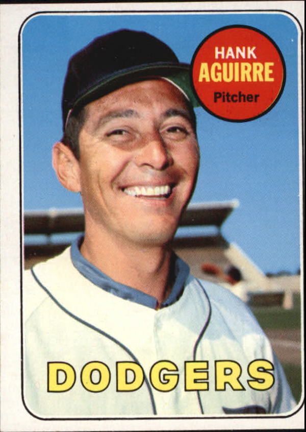 1969 Topps #94 Hank Aguirre