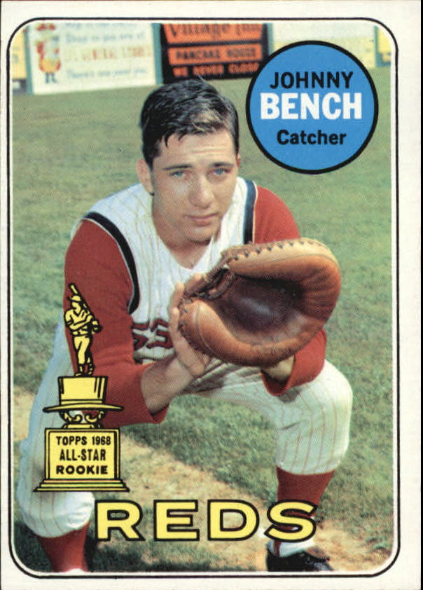 1969 Topps #95 Johnny Bench
