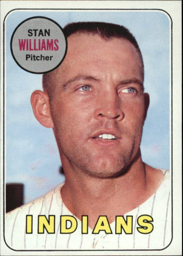 1969 Topps #118 Stan Williams