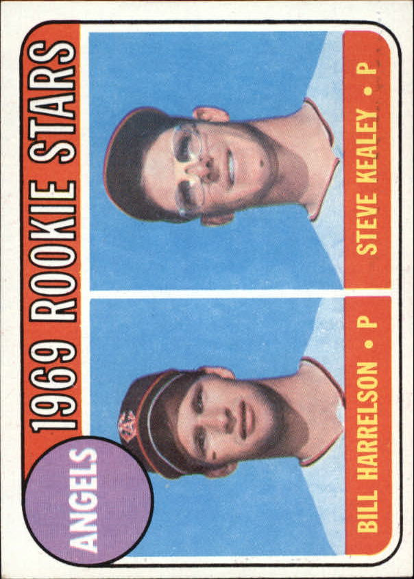 1969 Topps #224 Rookie Stars/Bill Harrelson RC/Steve Kealey RC