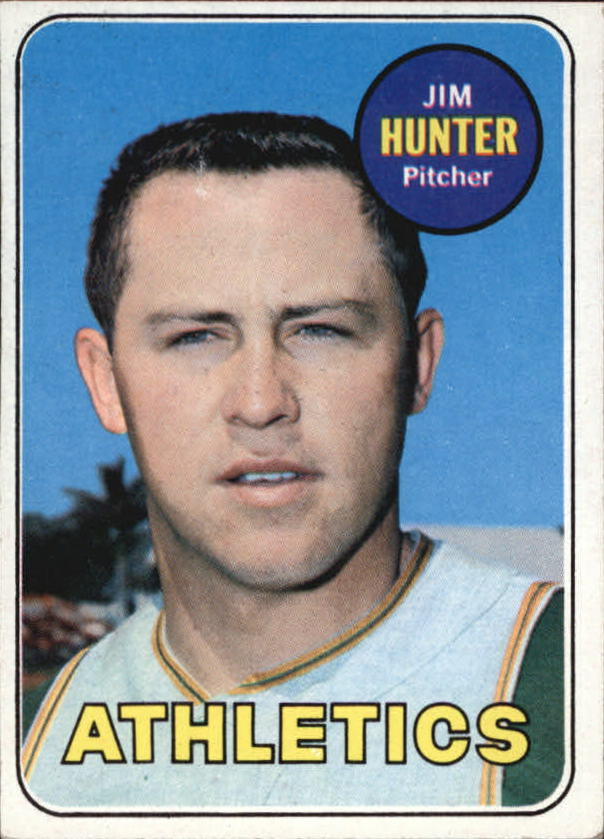 1969 Topps #235 Jim Hunter