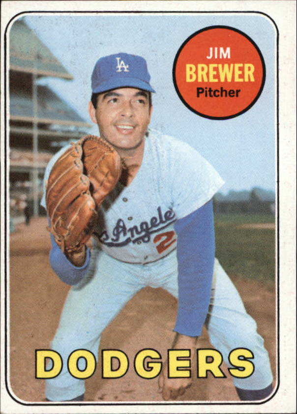 1969 Topps #241 Jim Brewer