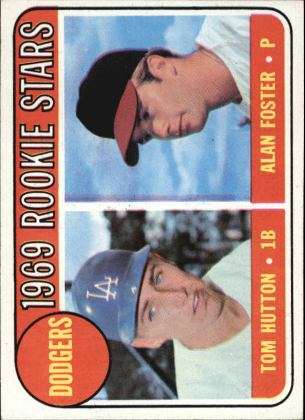 1969 Topps #266 Rookie Stars/Tom Hutton/Alan Foster RC