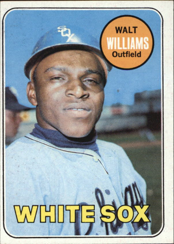1969 Topps #309 Walt Williams