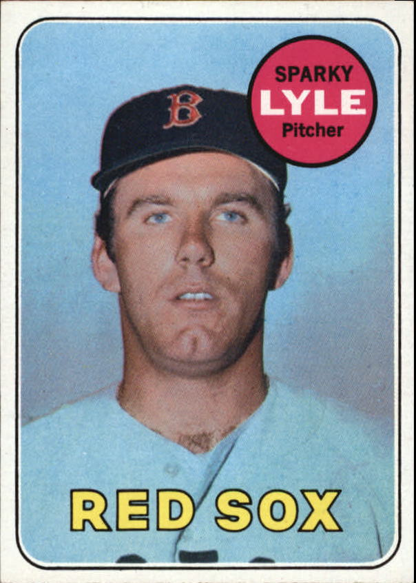 1969 Topps #311 Sparky Lyle RC