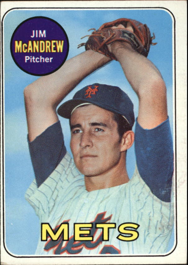 1969 Topps #321 Jim McAndrew RC