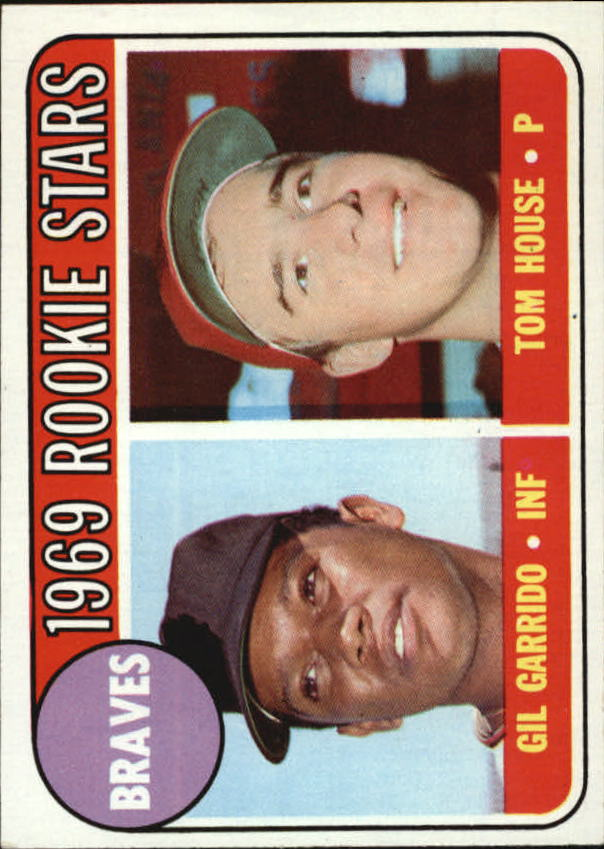 1969 Topps #331 Rookie Stars/Gil Garrido/Tom House RC
