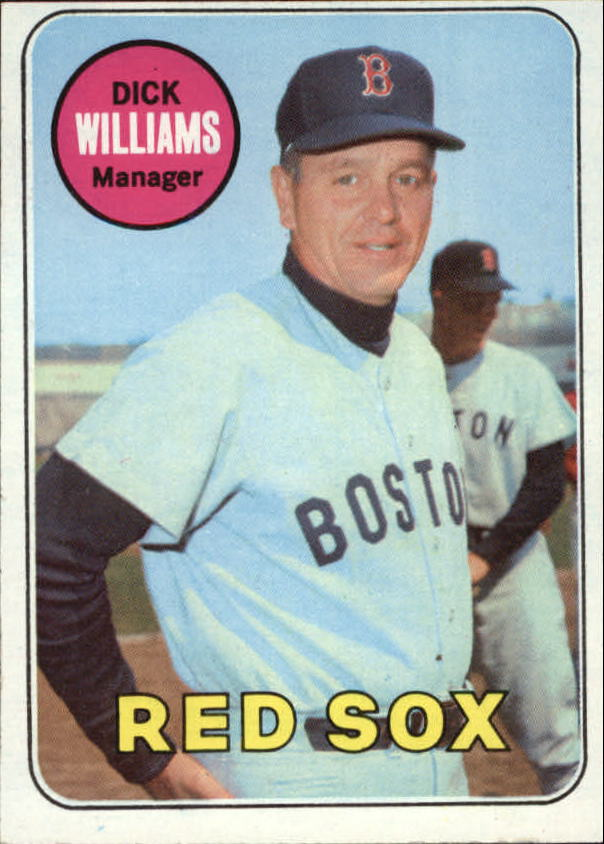 1969 Topps #349 Dick Williams MG