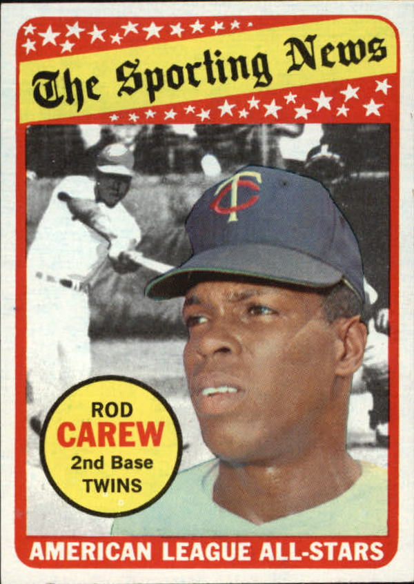 1969 Topps #419 Rod Carew AS