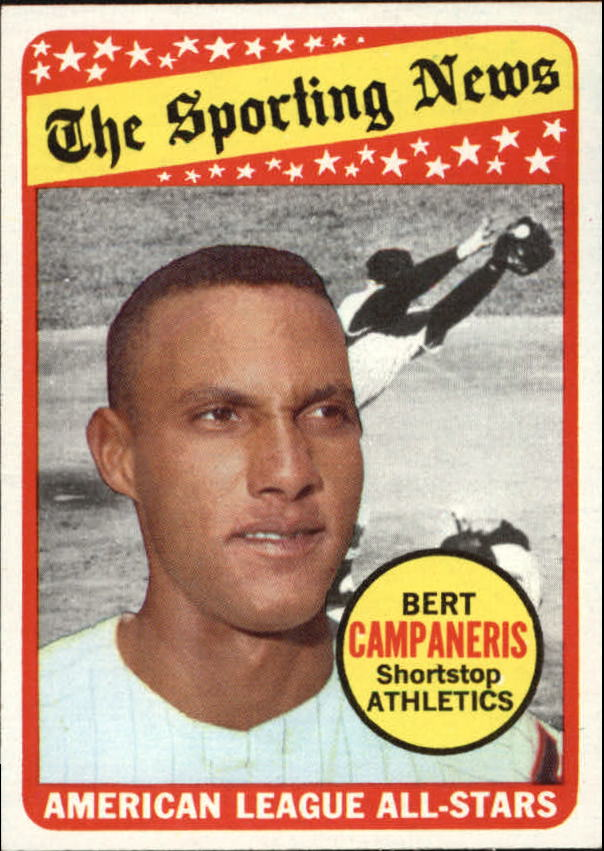 1969 Topps #423 Bert Campaneris AS