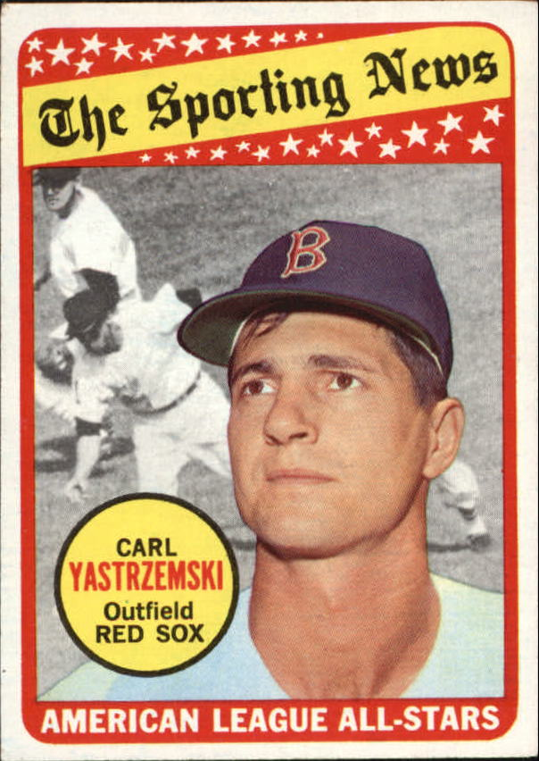 1969 Topps #425 Carl Yastrzemski AS