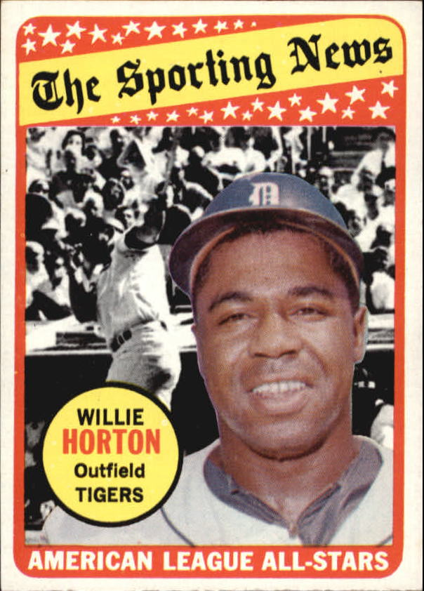1969 Topps #429 Willie Horton AS