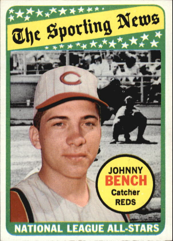 1969 Topps #430 Johnny Bench AS