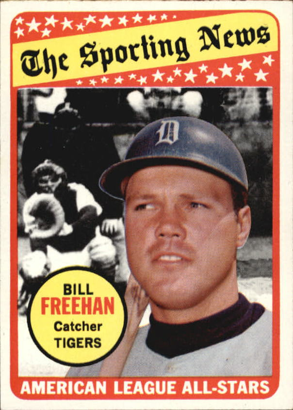 1969 Topps #431 Bill Freehan AS