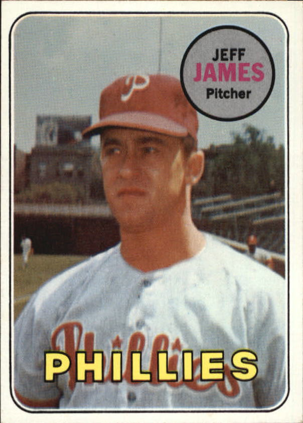 1969 Topps #477 Jeff James RC