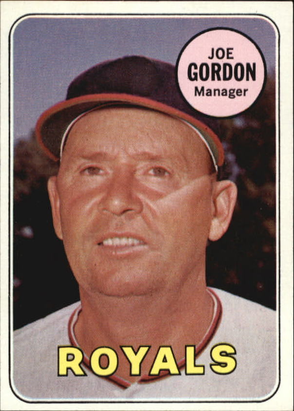 1969 Topps #484 Joe Gordon MG