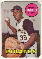 1969 Topps #509 Manny Sanguillen