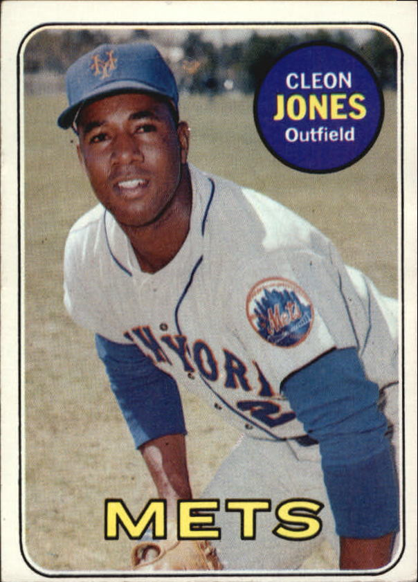 1969 Topps #512 Cleon Jones