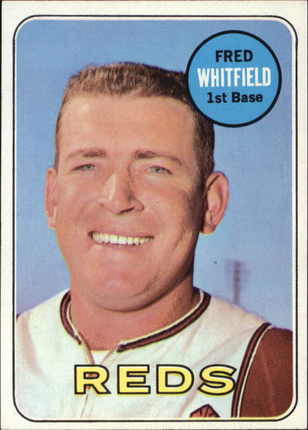 1969 Topps #518 Fred Whitfield