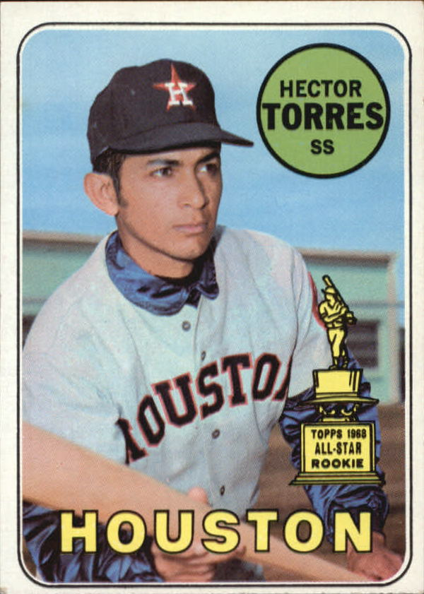 1969 Topps #526 Hector Torres RC