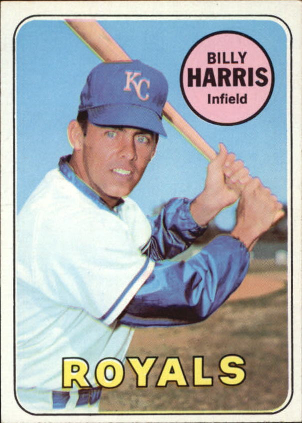 1969 Topps #569 Billy Harris