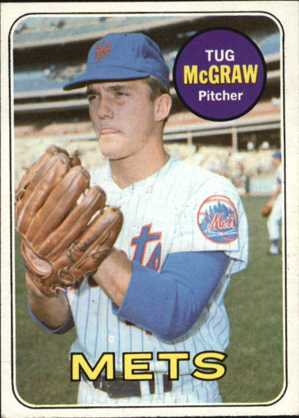 1969 Topps #601 Tug McGraw SP