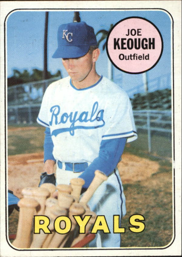 1969 Topps #603 Joe Keough RC
