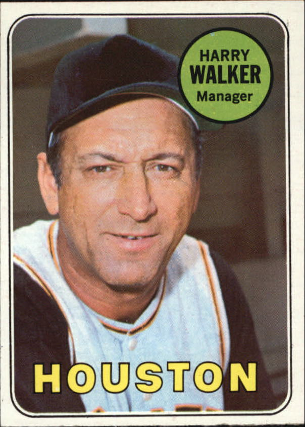 1969 Topps #633 Harry Walker MG