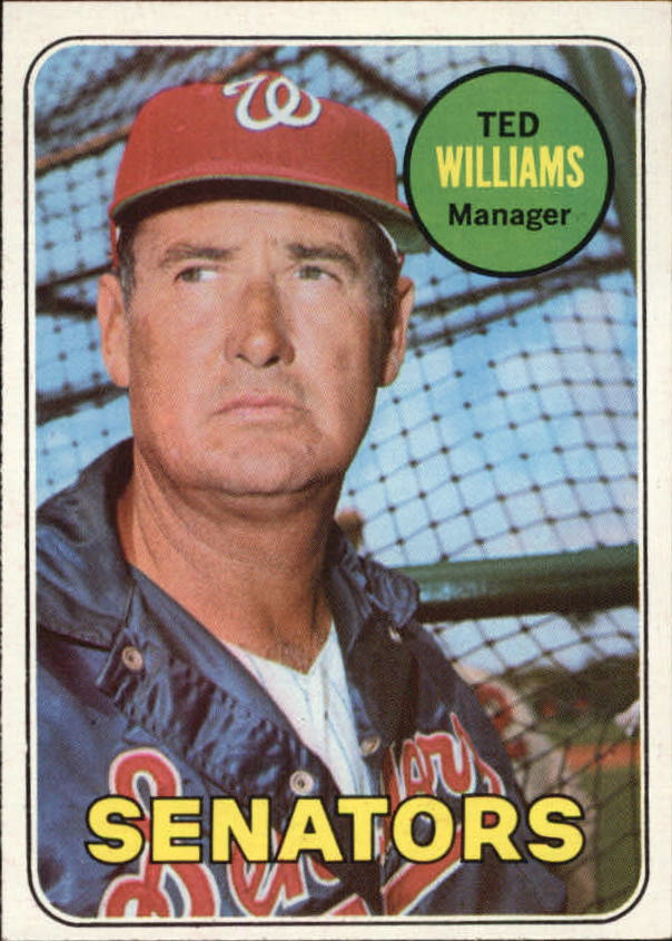 1969 Topps #650 Ted Williams MG