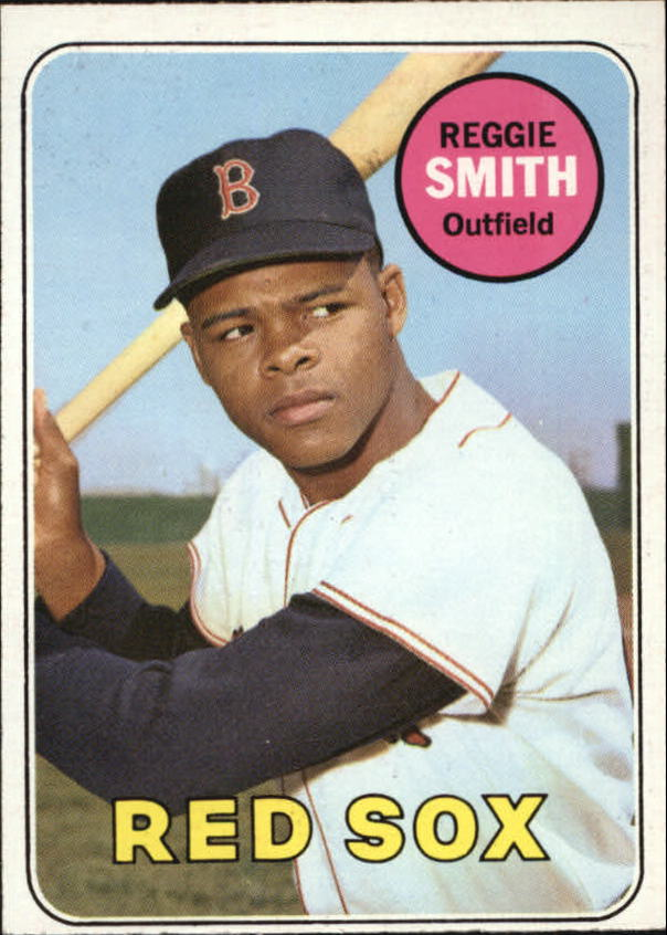 1969 Topps #660 Reggie Smith