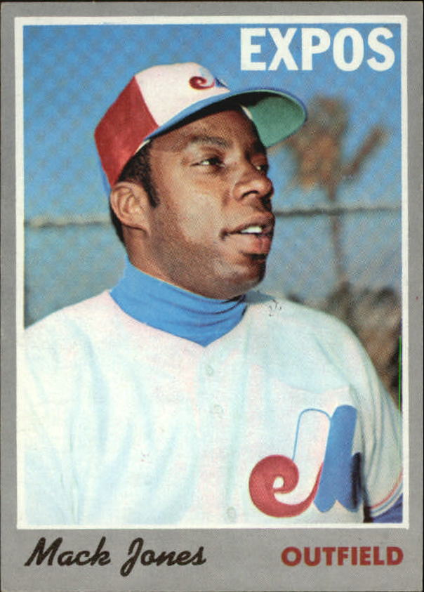 1970 Topps #38 Mack Jones