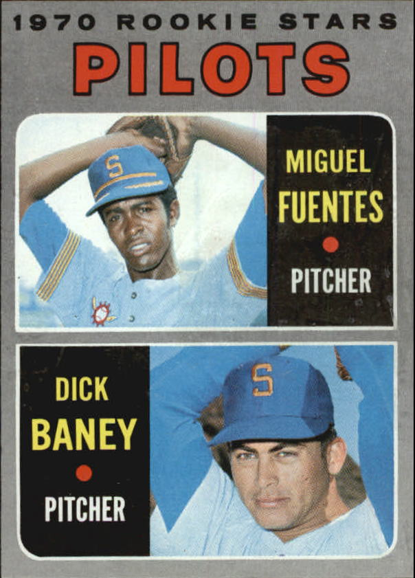 1970 Topps #88 Rookie Stars/Miguel Fuentes RC/Dick Baney RC