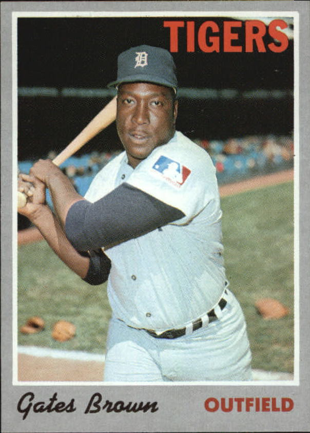 1970 Topps #98 Gates Brown