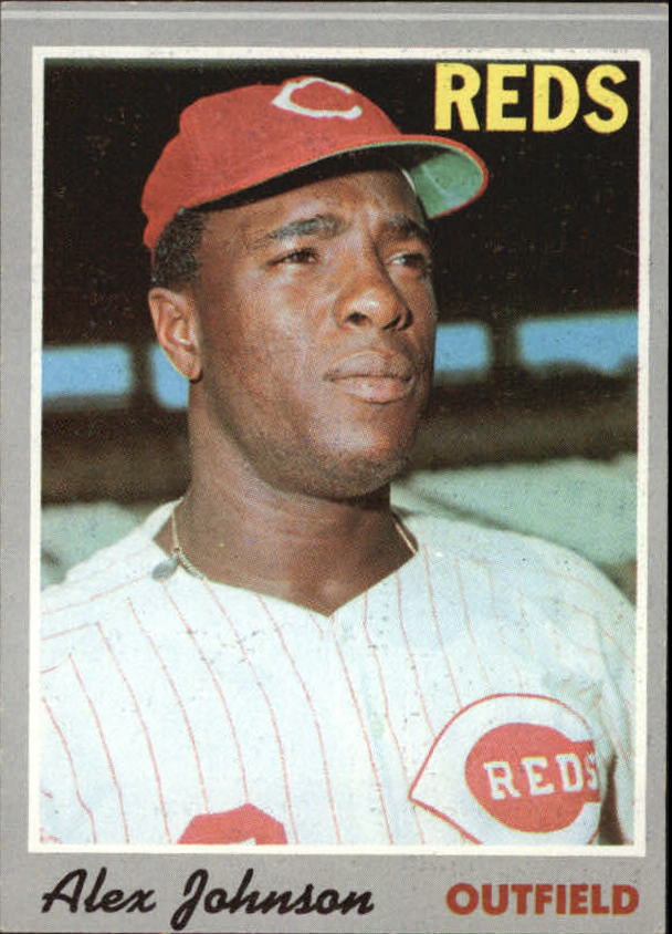 1970 Topps #115 Alex Johnson