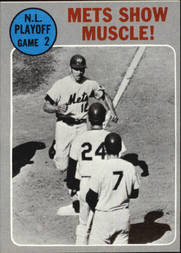 1970 Topps #196 NL Playoff Game 2/Ken Boswell