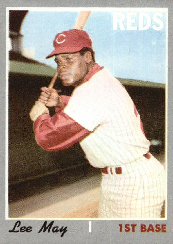 1970 Topps #225 Lee May