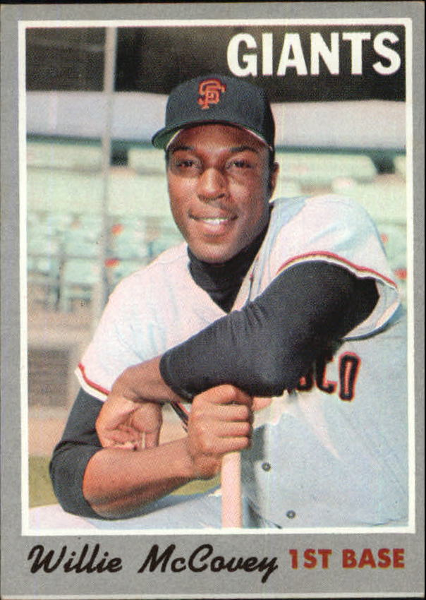 1970 Topps #250 Willie McCovey UER (1963 San Francisci)