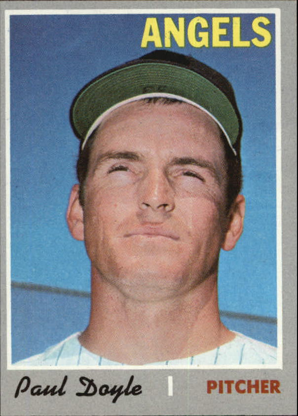 1970 Topps #277 Paul Doyle RC