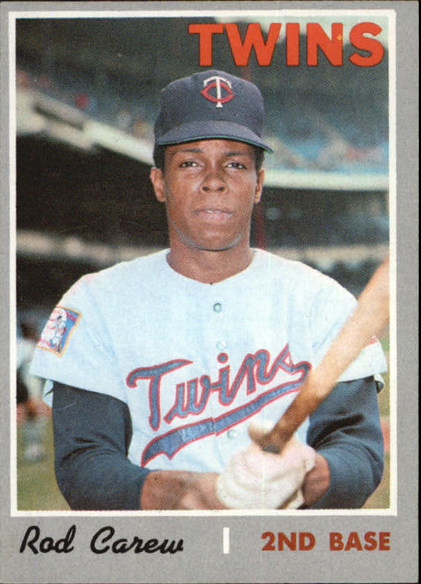 1970 Topps #290 Rod Carew