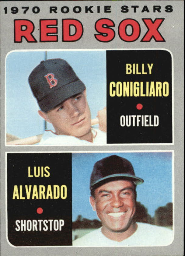 1970 Topps #317 Rookie Stars/Billy Conigliaro/Luis Alvarado RC