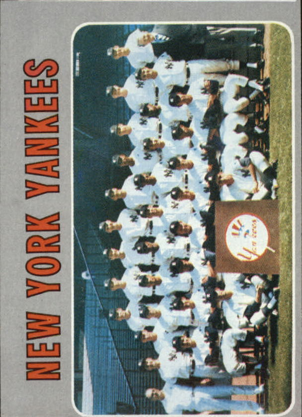 1970 Topps #399 New York Yankees TC