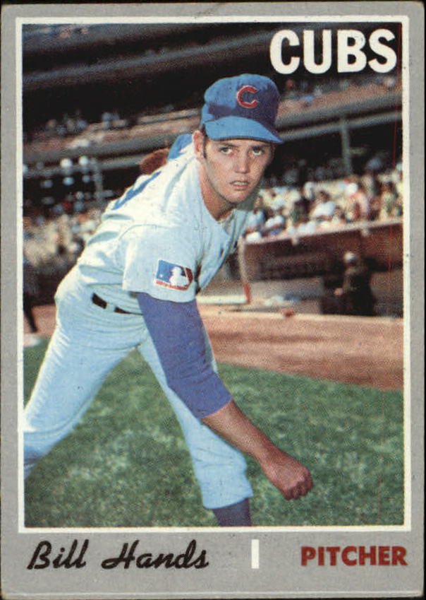 1970 Topps #405 Bill Hands