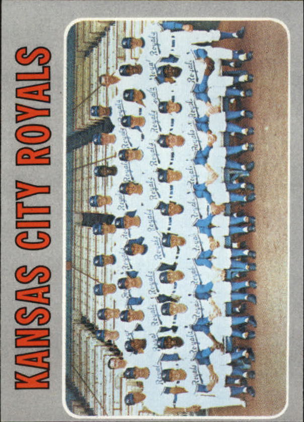 1970 Topps #422 Kansas City Royals TC