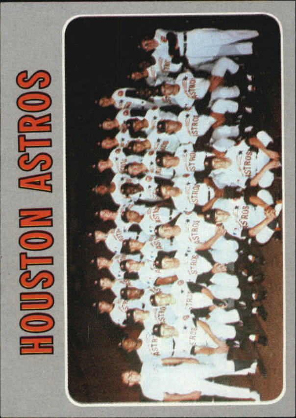 1970 Topps #448 Houston Astros TC