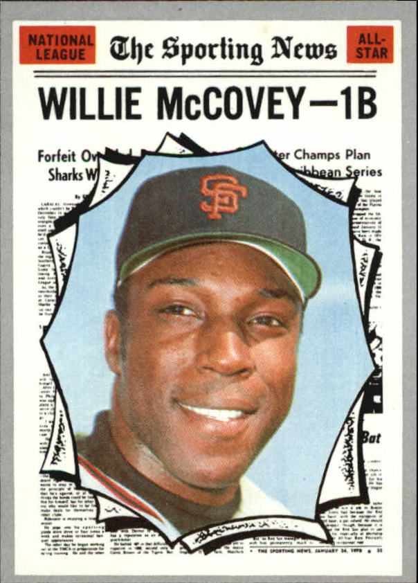 1970 Topps #450 Willie McCovey AS