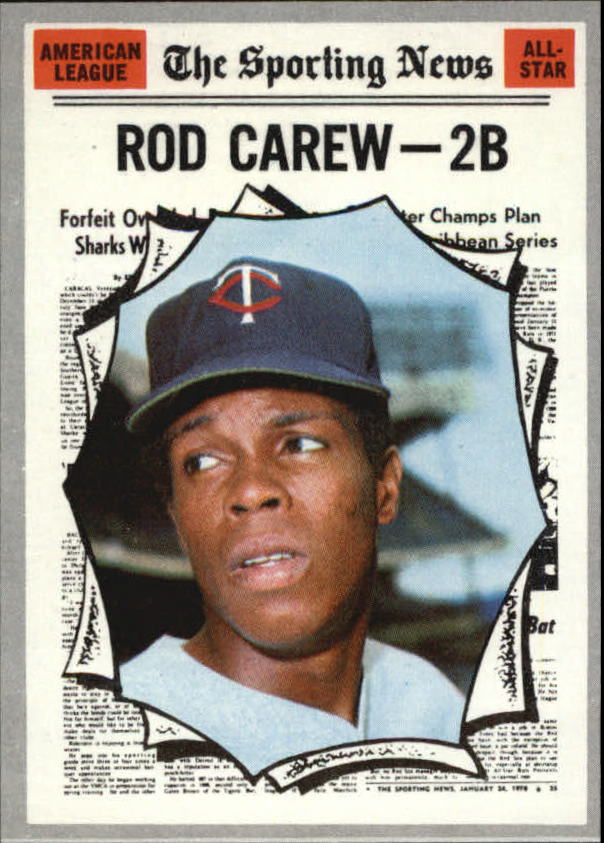 1970 Topps #453 Rod Carew AS
