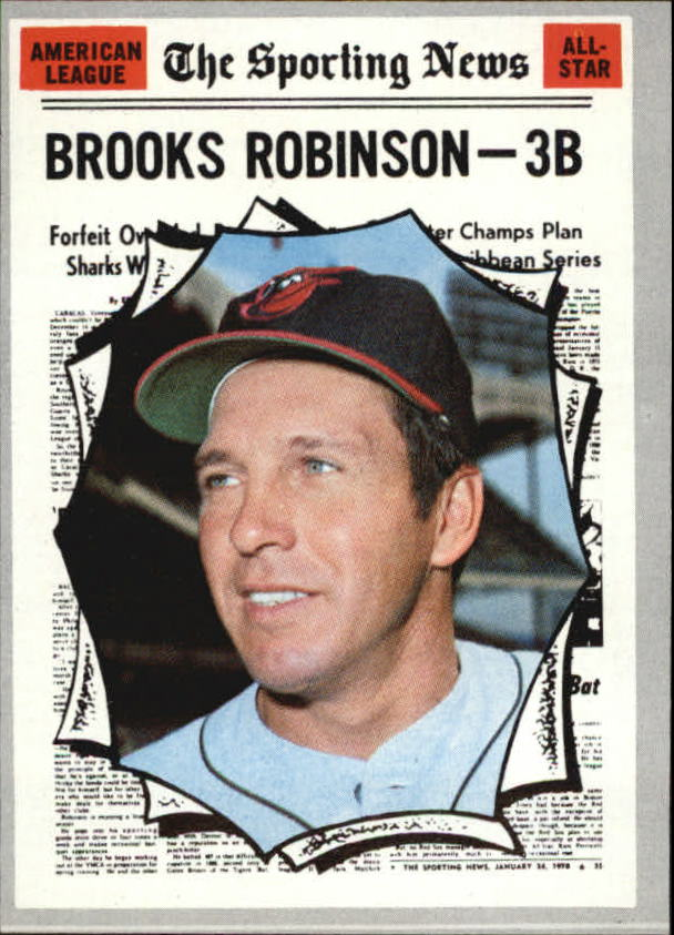 1970 Topps #455 Brooks Robinson AS